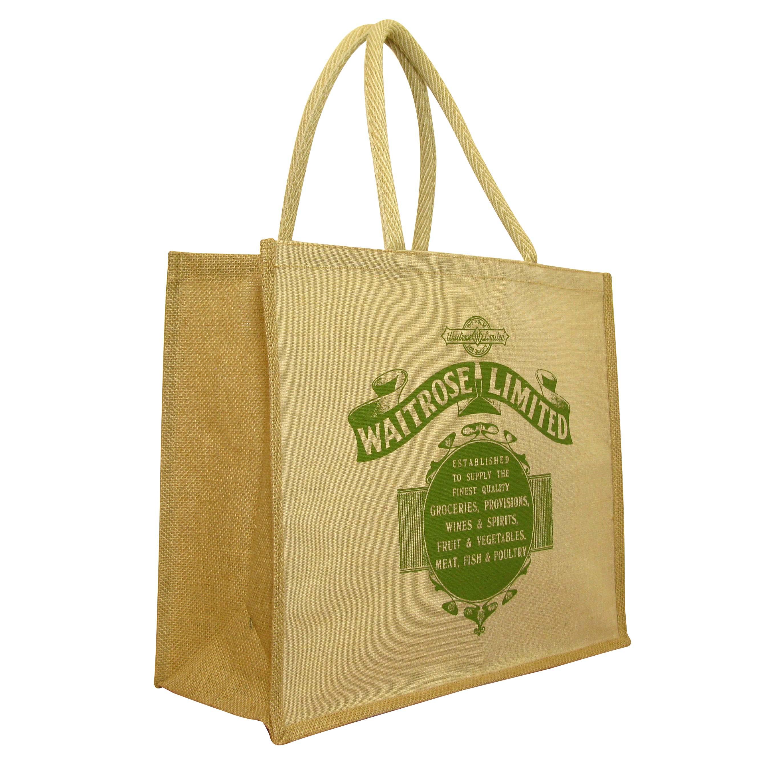 a3a4ee70c Jute Shopping Bags & Personalised Printed Hessian Jute Bags UK