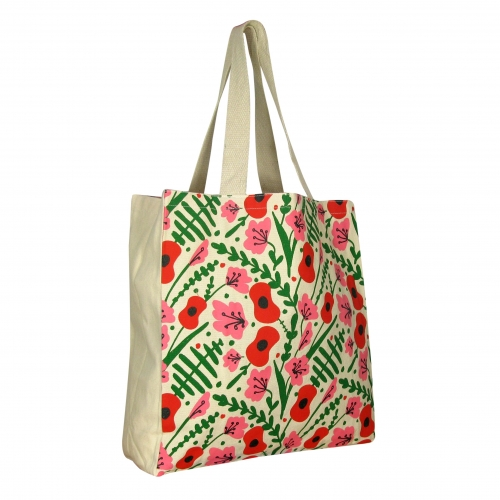 Royal British Legion Ditsy Floral Cotton Shopper