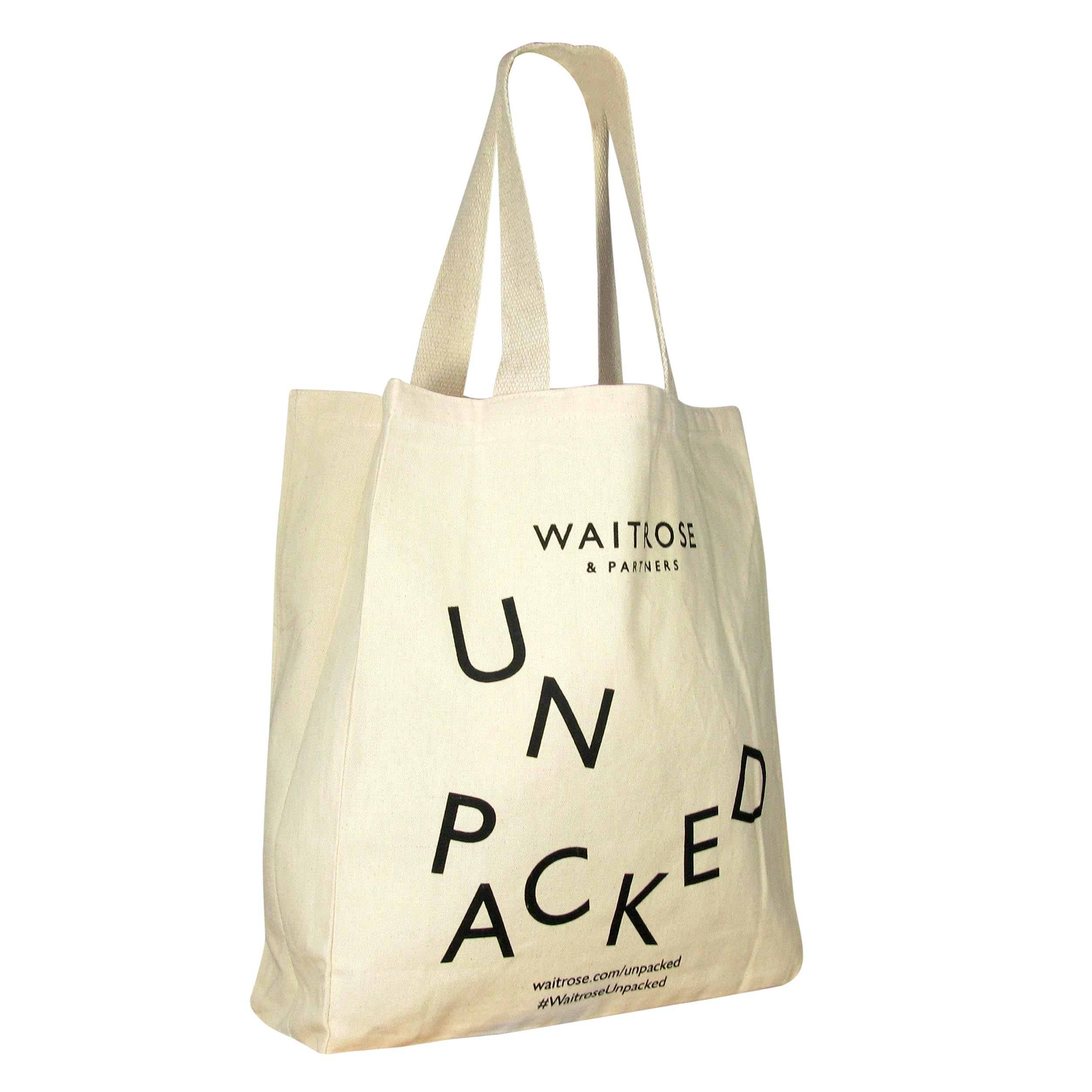 Waitrose Unpacked Cotton Shopper